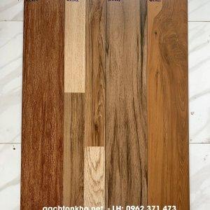 gạch giả gỗ 15x80 ốp tường đẹp