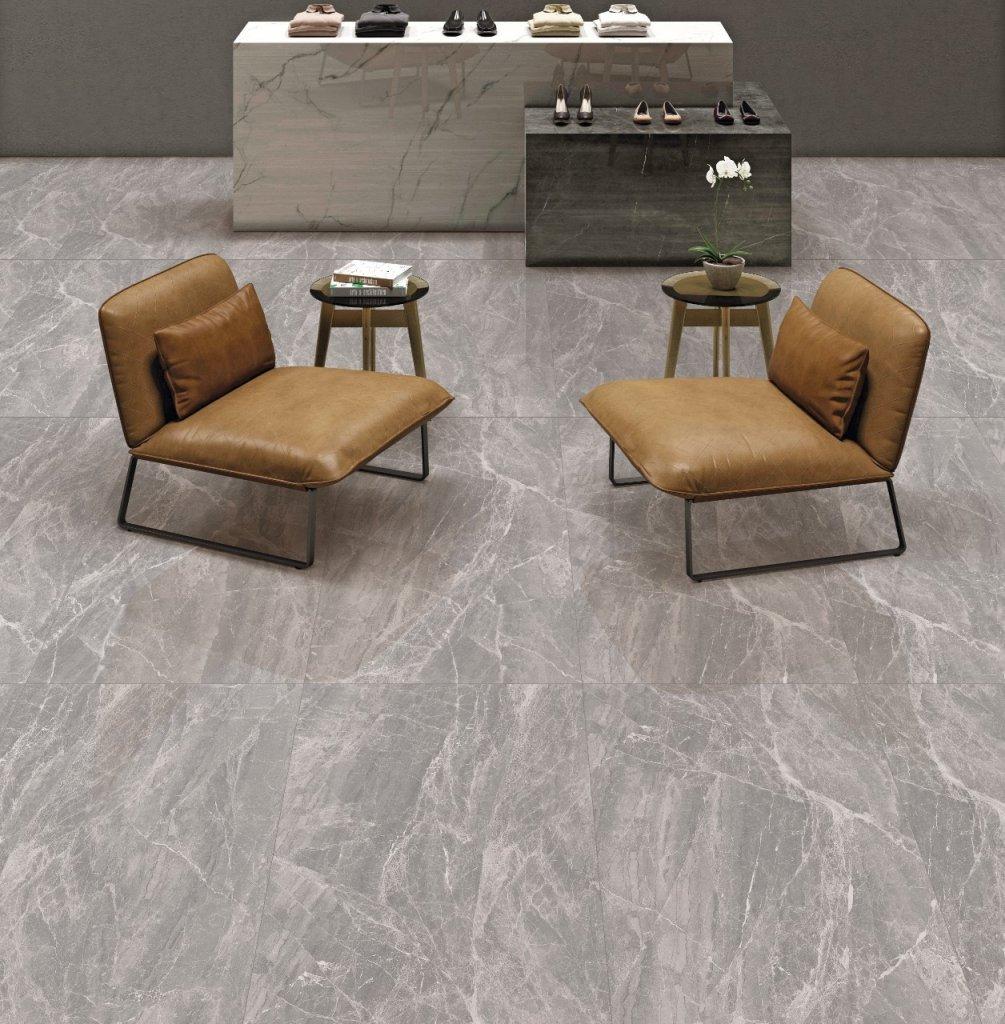 gạch Ấn độ 600x1200 bóng kiếng vân đá Marble