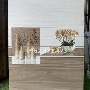 gạch men 30x60 giả gỗ ốp tường