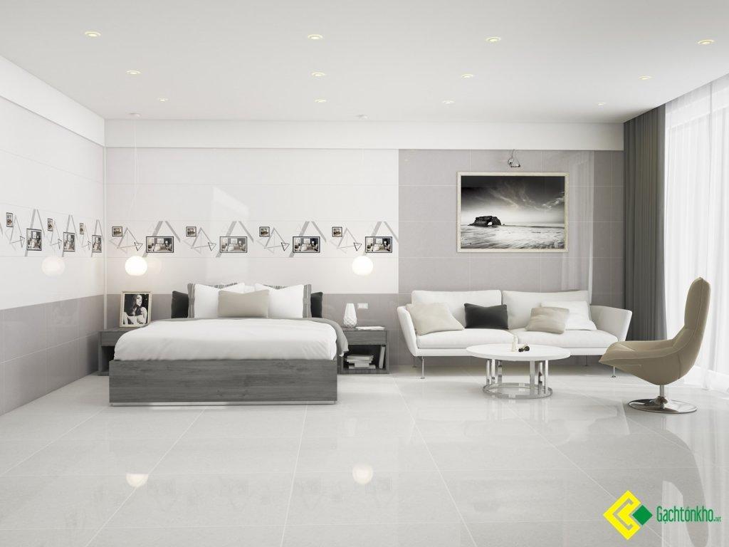 gạch 40x80 ốp phòng khách