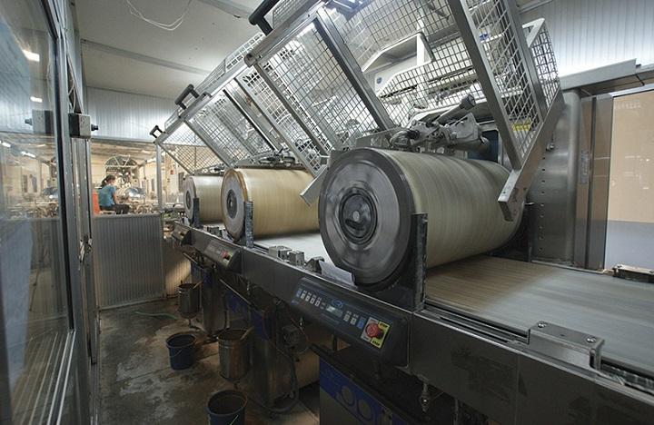 dây chuyền sản xuất gạch Kis