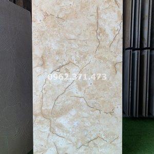 Gạch lát vân đá màu kem 60x120 Trung Quốc