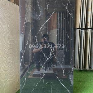 Gạch mặt tiền 60x120 đen chớp Trung Quốc