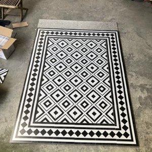gạch thảm bông lát nền