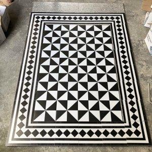 thảm gạch bông 20x20 trang trí