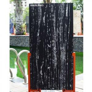 Gạch ốp 60x120 dán mặt tiền đen trắng