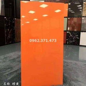 gạch 60x120 đơn sắc màu cam