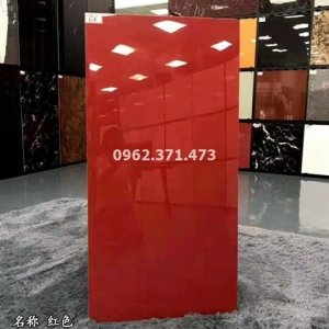 gạch 60x120 đơn sắc màu đỏ