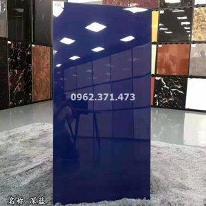 gạch 60x120 đơn sắc màu xanh đậm