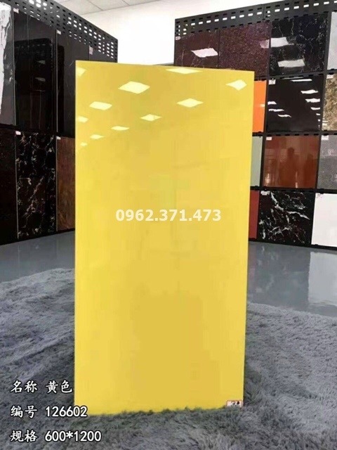 gạch 60x120 trung quốc màu vàng