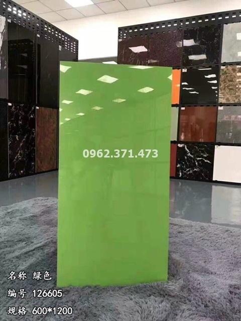 gạch 60x120 trung quốc màu xanh lá