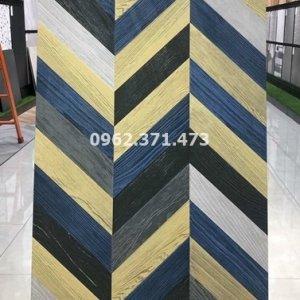 Gạch lót sàn vân gỗ 60x120 vân gỗ ghép