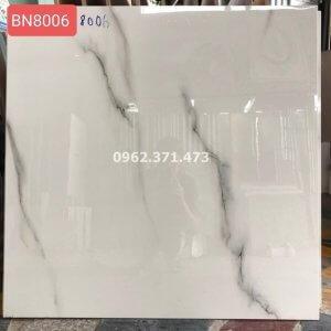 Gạch trắng vân khói 80x80 Ấn độ