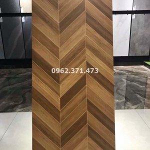 lát gạch giả gỗ 60x120 sang trọng