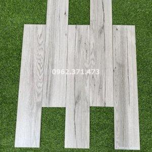 Lát gạch gỗ 15x80 vân gỗ xám