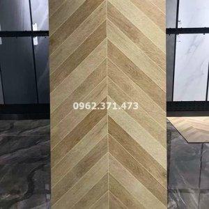 Sàn gạch gỗ 60x120 vân gỗ Trung Quốc