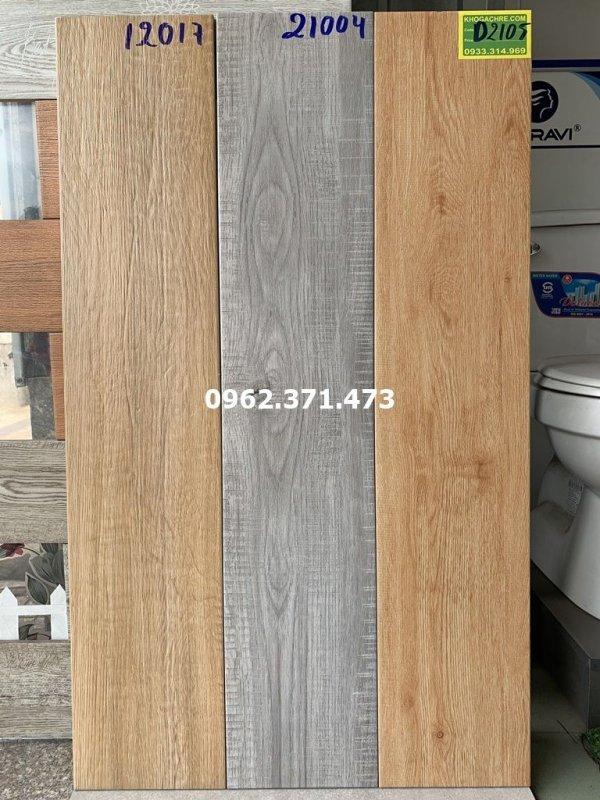 Lát nền gạch gỗ 20x100